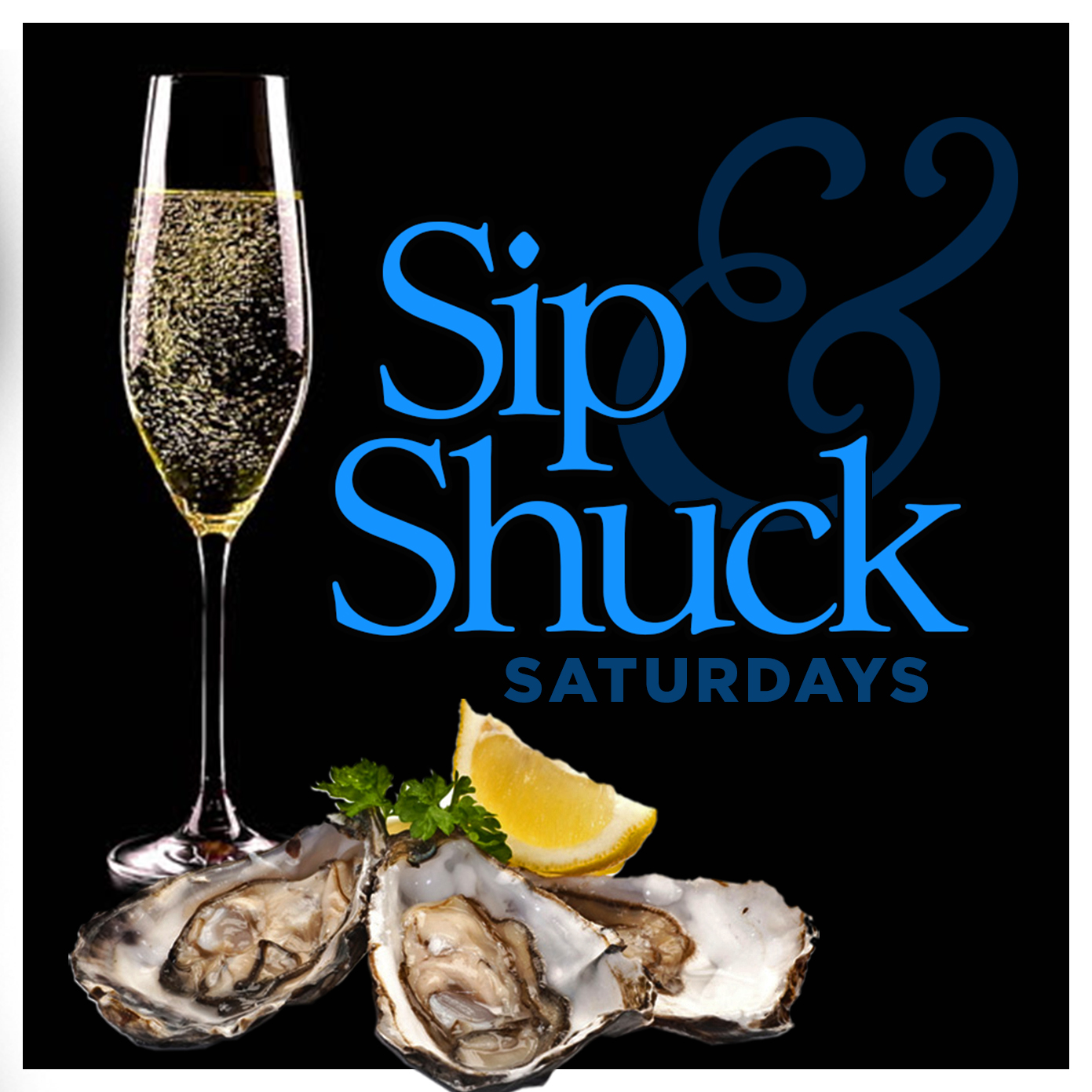 Chandelier Bar Sip and Shuck